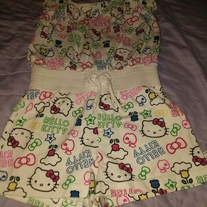 Hello kitty toddlers romper